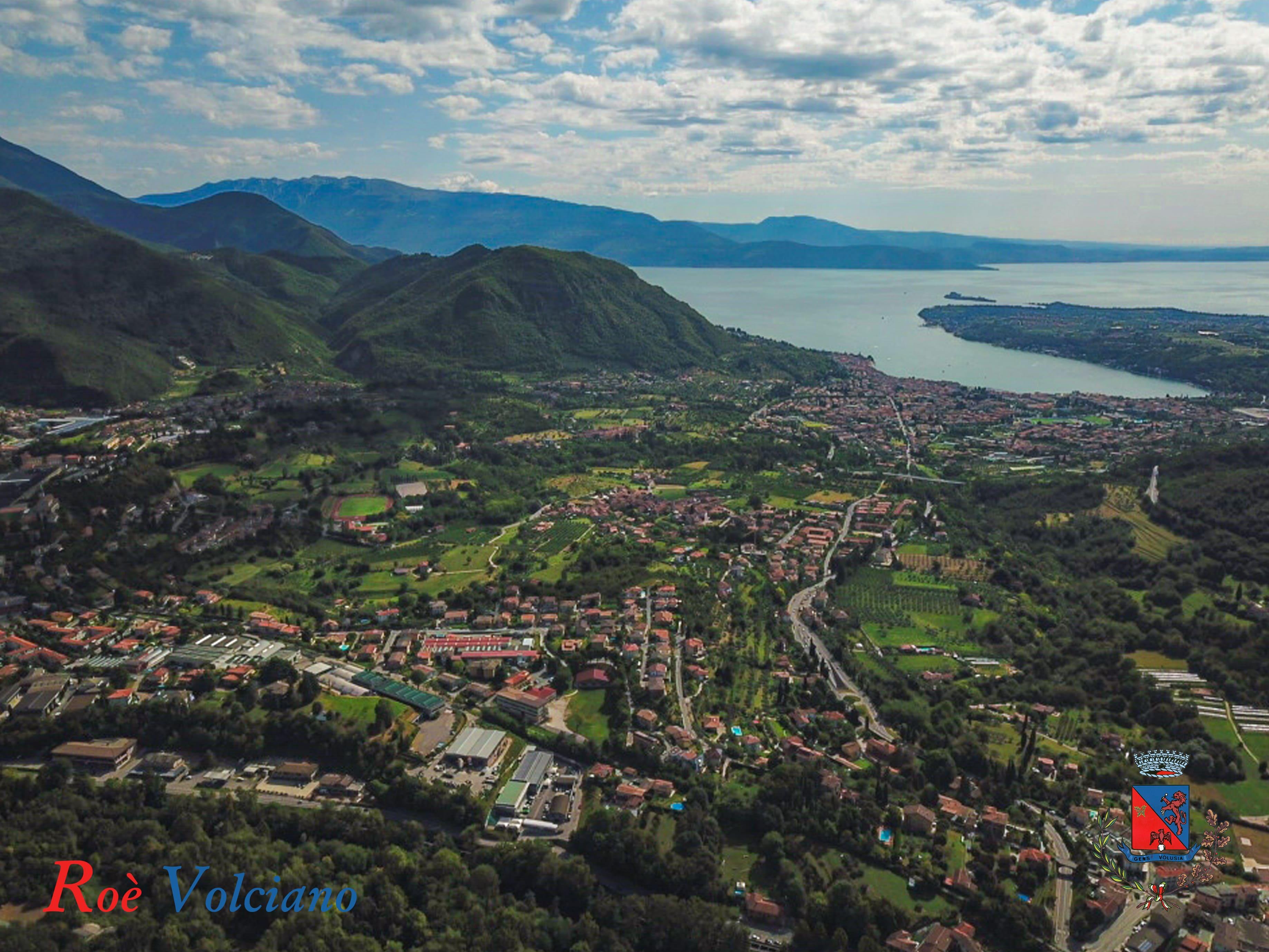Roè Volciano …..Un balcone sul Lago di Garda…..